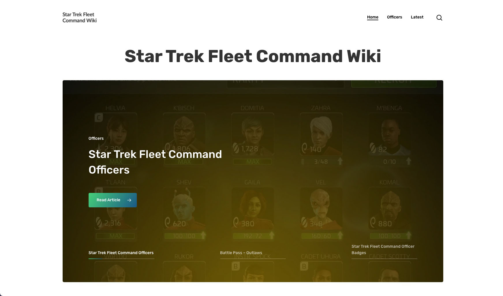 Star Trek Fleet Command Wiki