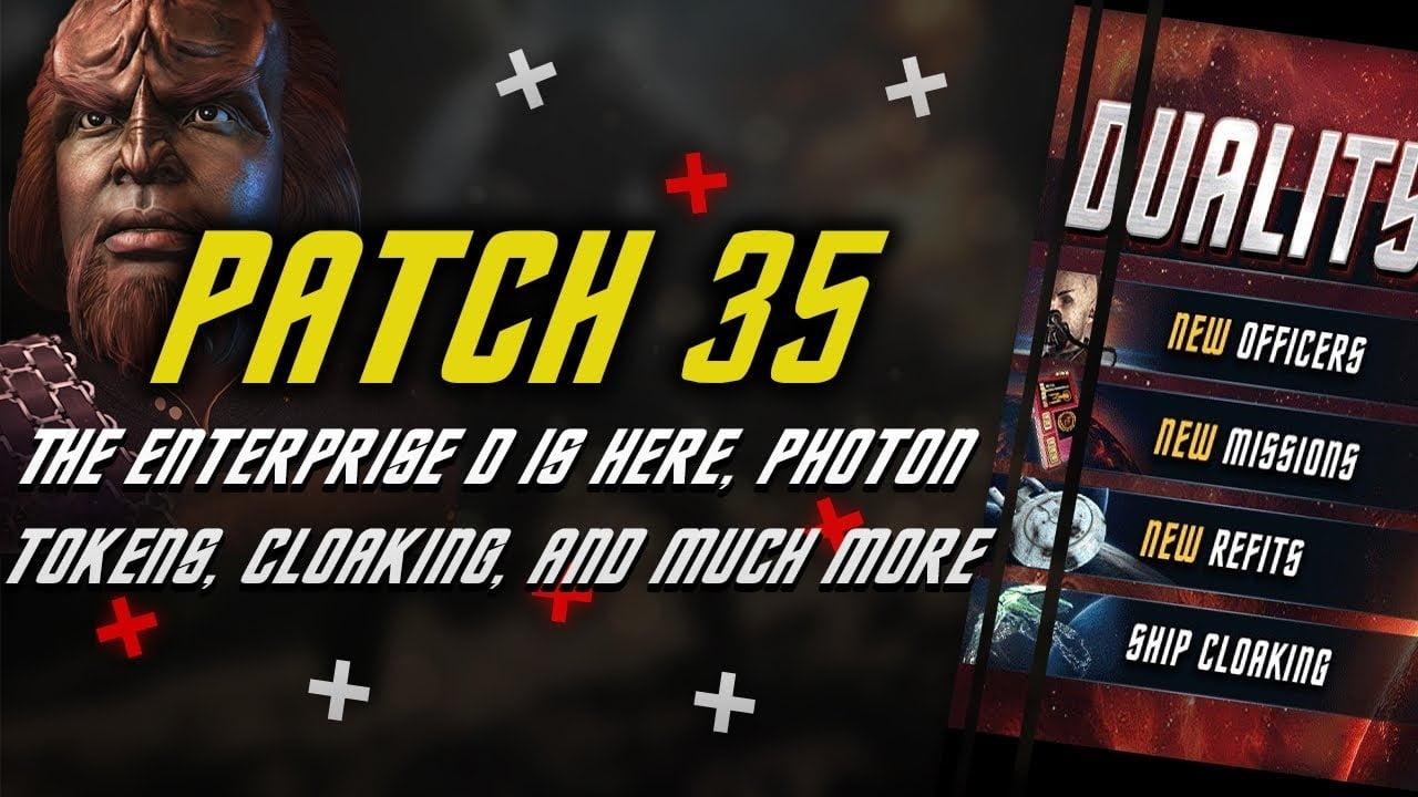 star trek fleet command patch 35 video